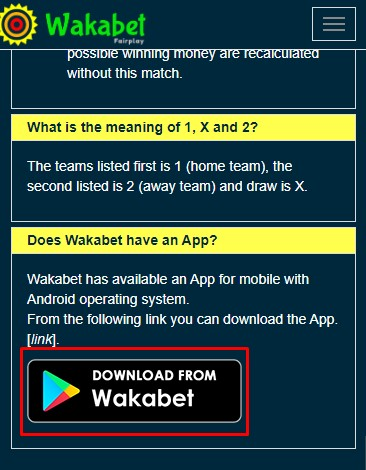 wakabet app download