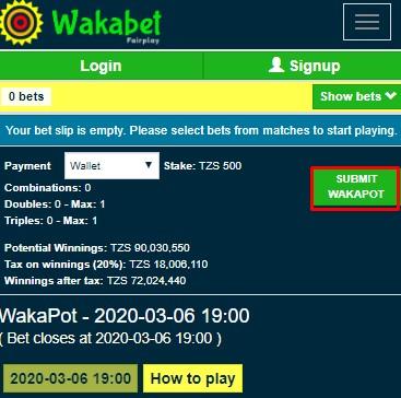 Download Wakabet Apk