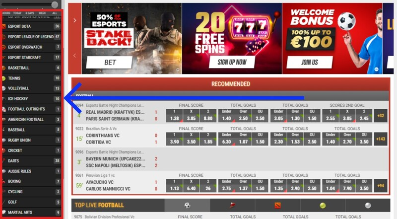 Highest odds betting site