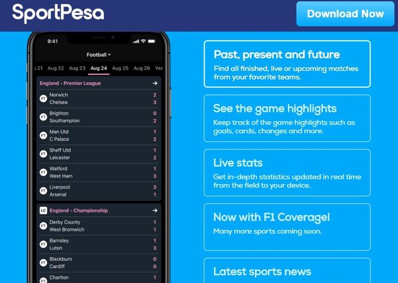 Sportpesa betting live score sports betting limits vegas